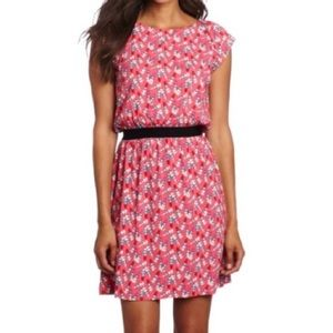 Lilly Pulitzer Laney Dress in Kissy Pink Lipstick